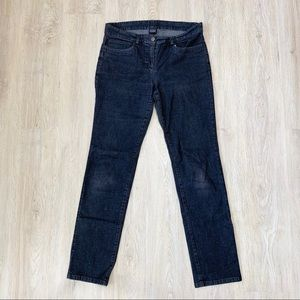 4FOR$20/Eileen Fisher Dark Gray Straight Jeans SzS
